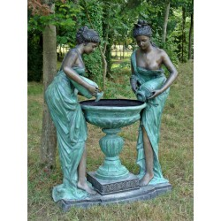 Fontaine en bronze.