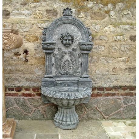 Fontaine murale avec vasque