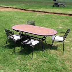 Table Oblong Modèle 1