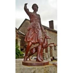 Statues en fonte