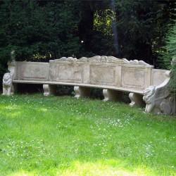 Banc en Pierre Antique
